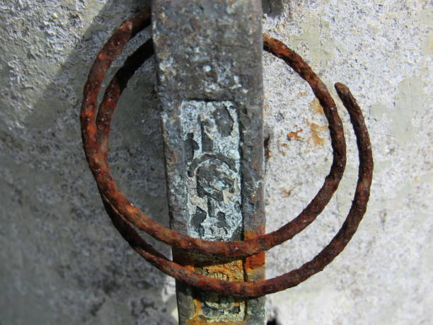 rusty rings - dianna dann narciso stock pictures, royalty-free photos & images