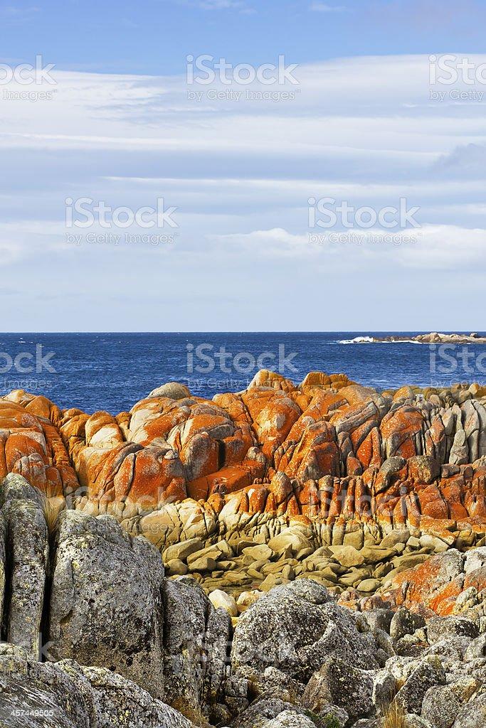 Rusty Rocks stock photo