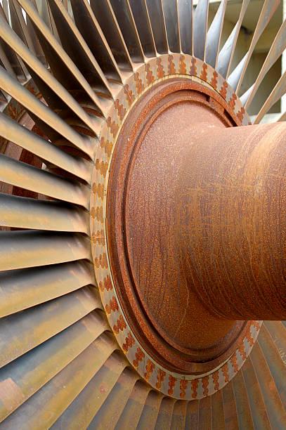 Rusty Rotor stock photo
