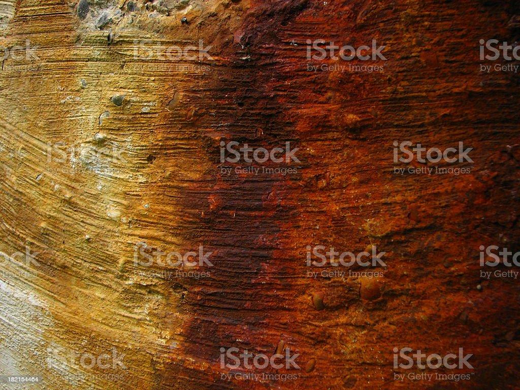 rusty runs stock photo