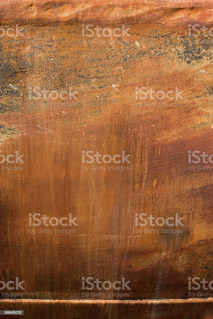 rusty ship's hull royalty-free stock photo
