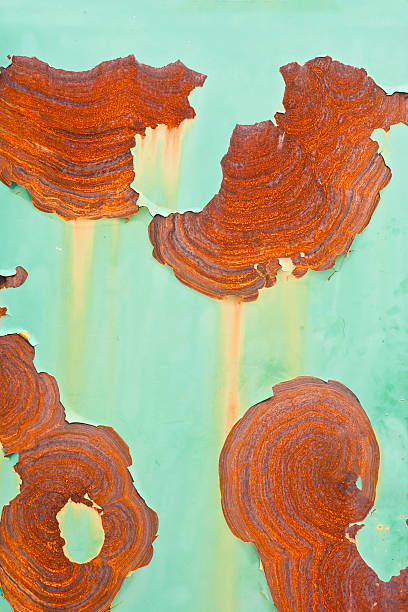 rusty bunten hintergrund - eisenmangel was tun stock-fotos und bilder