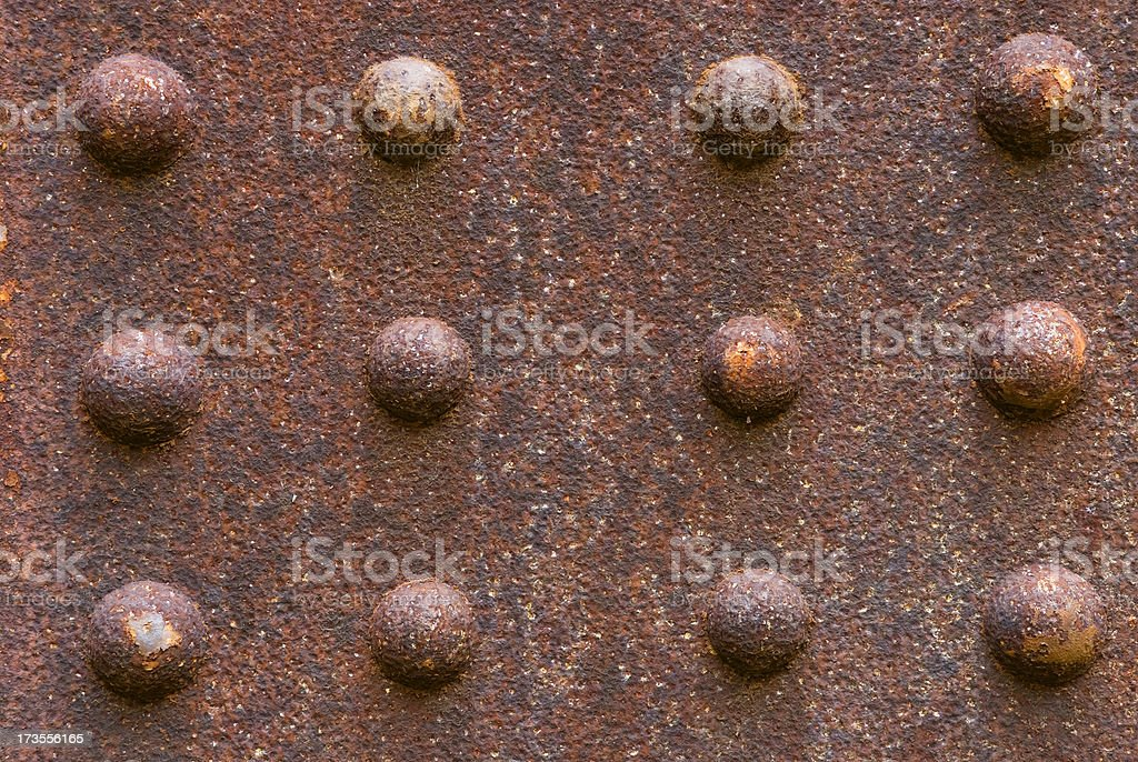 rusty steel background royalty-free stock photo