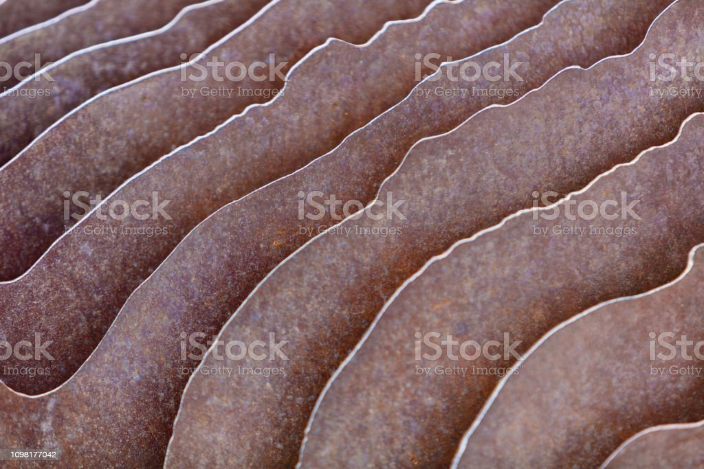 Rusty Steel Environment Pattern Texture Background stock photo