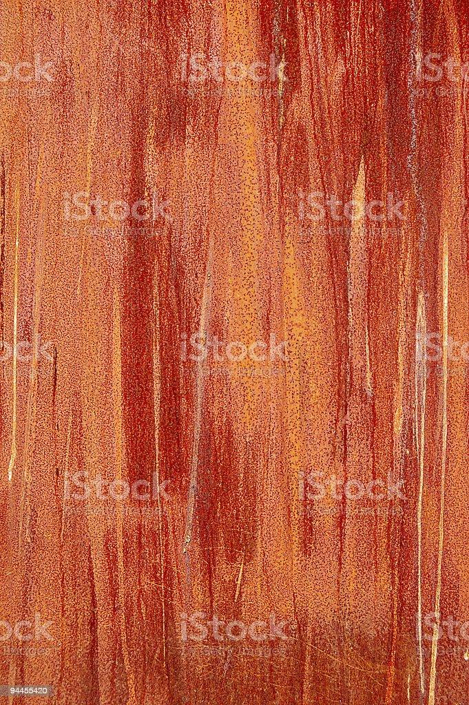 rusty steel sheet royalty-free stock photo