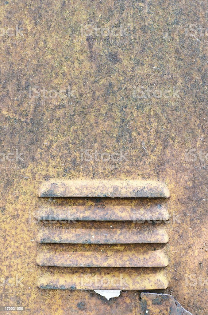 Rusty steel surface for background use royalty-free stock photo