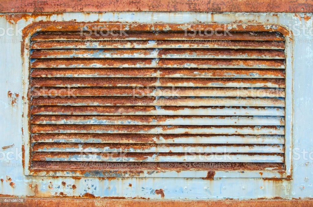 rusty steel wall background stock photo
