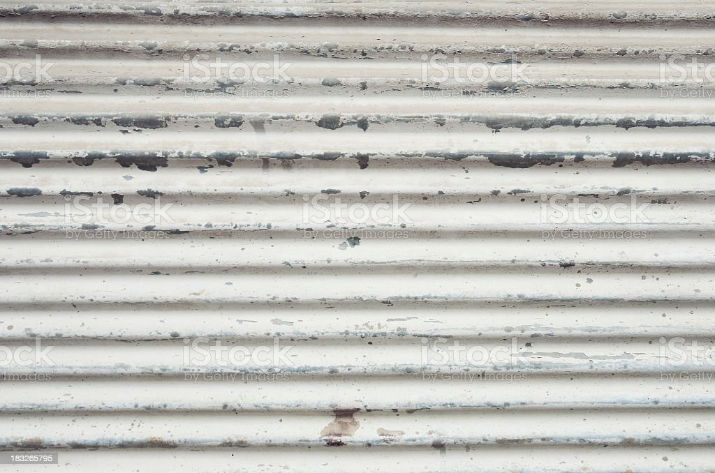 Rusty Store Door royalty-free stock photo