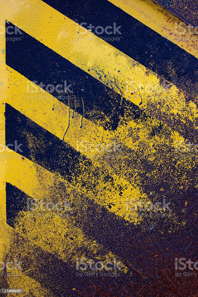 rusty, striped texture royalty-free stock photo