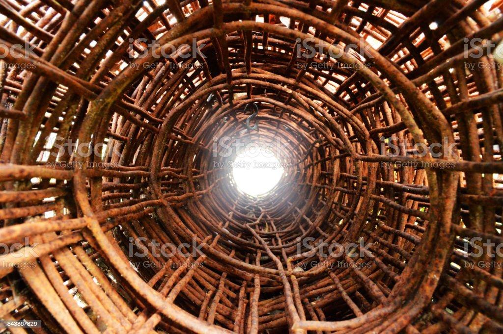 Rusty Tunnel stock photo
