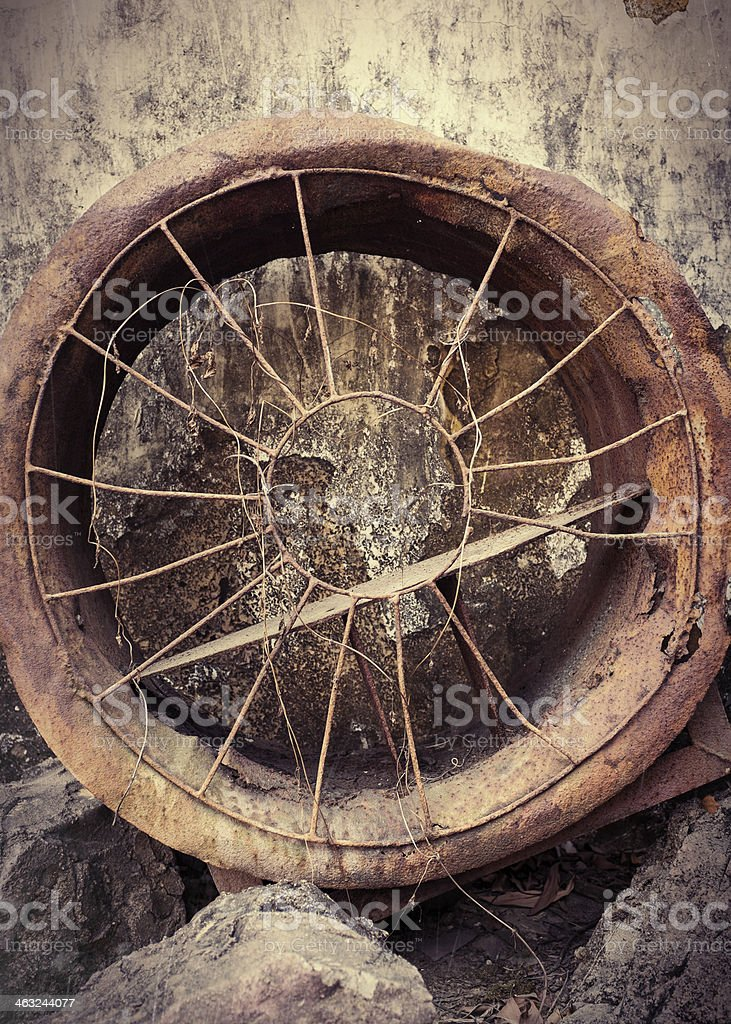 Rusty Vent royalty-free stock photo