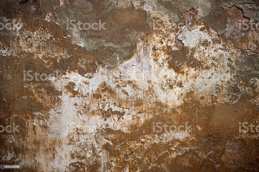 rusty wall stock photo