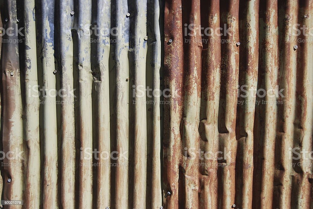 Rusty Wall royalty-free stock photo