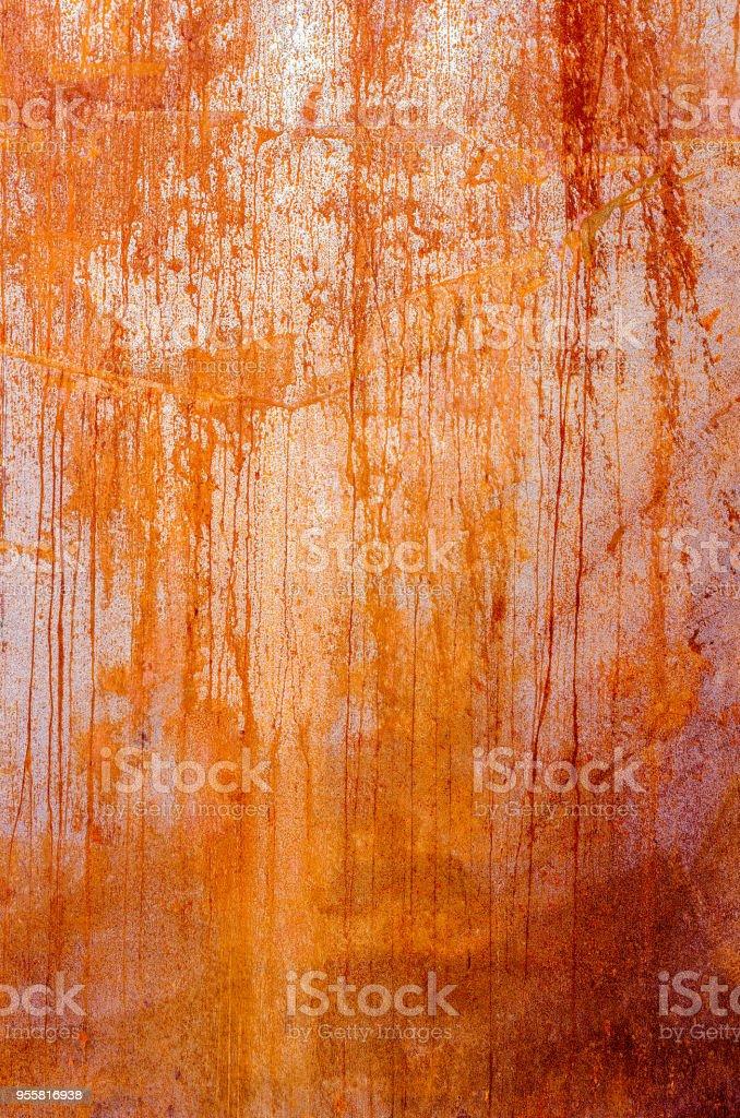 Rostige Mauerwerk Panel gemacht aus Corten-Stahl - Stahl-Blatt – Foto