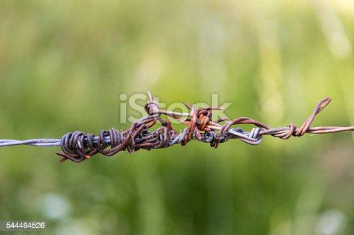 486568999istockphoto Rusty wired piece 544464526