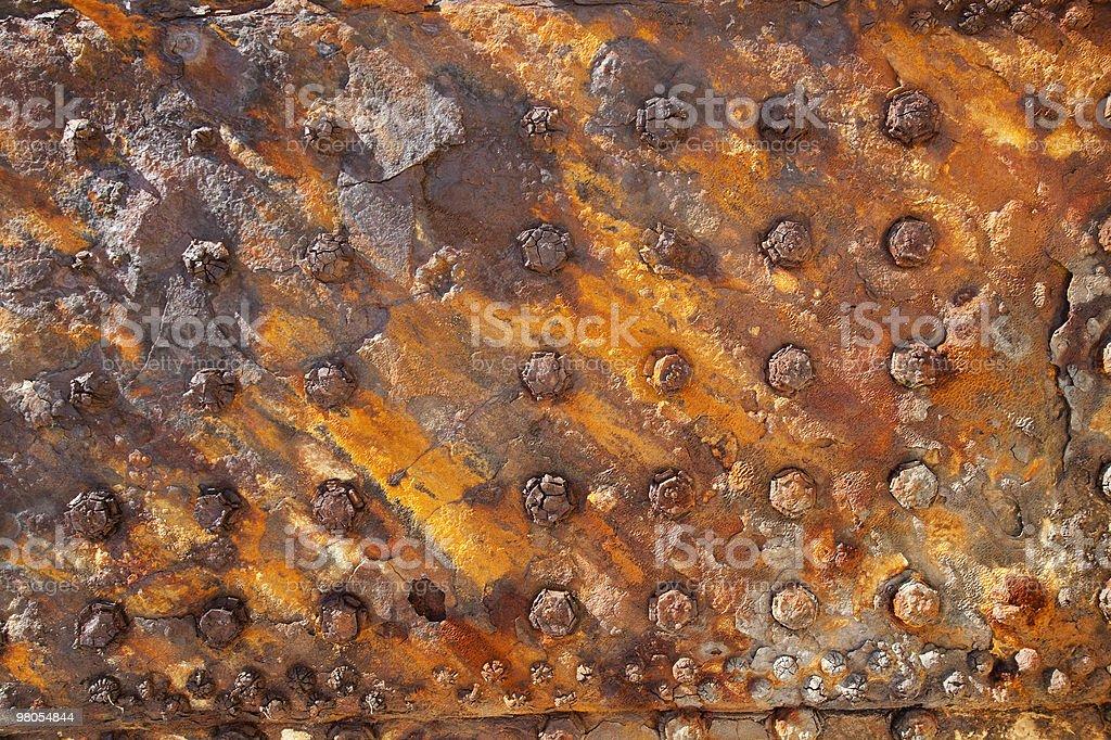 rusty wreck royalty-free stock photo