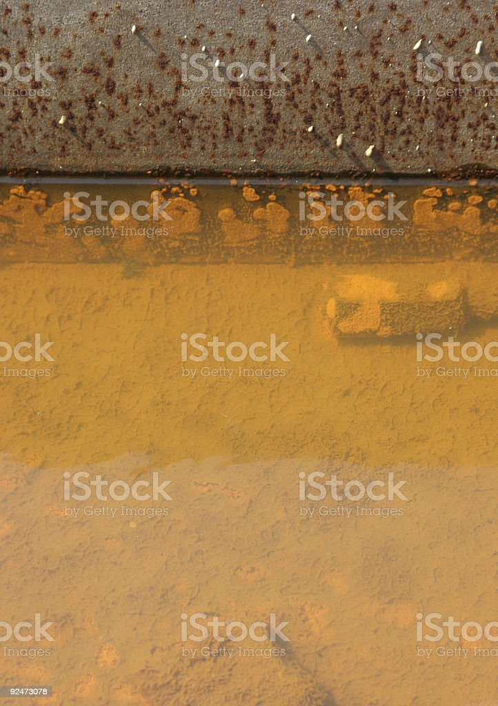 rusty-water-composition2 royalty-free stock photo