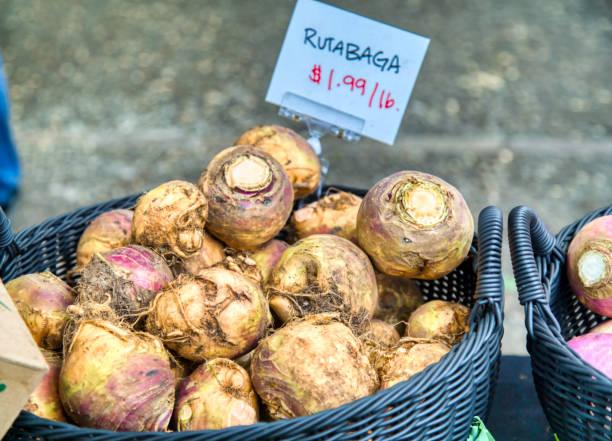 rutabaga at the farmer's market