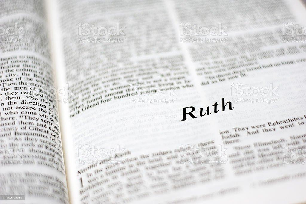 Ruth royalty-free stock photo
