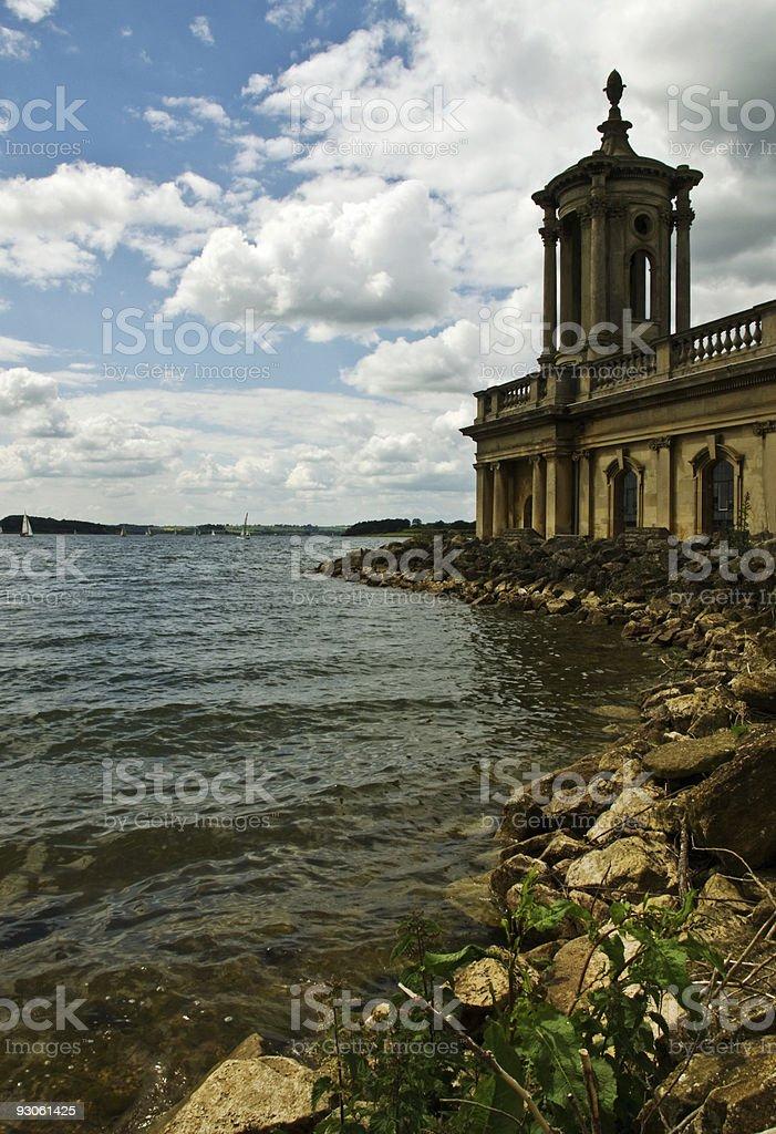 Rutland Water museum royalty-free stock photo