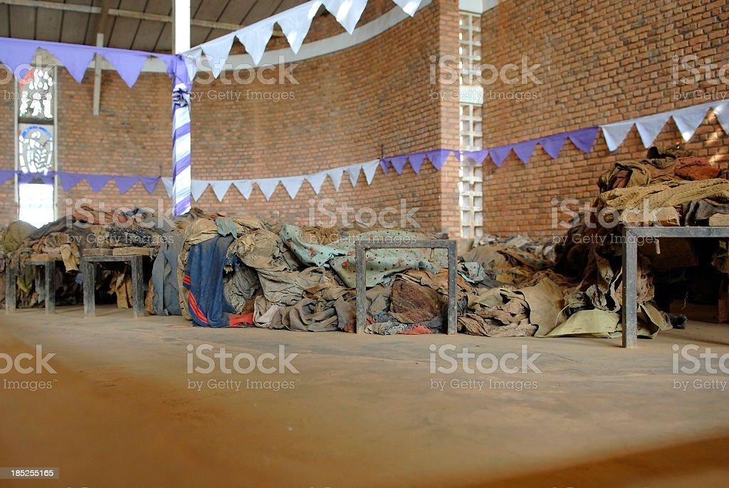 Rwandan Genocide Memory stock photo