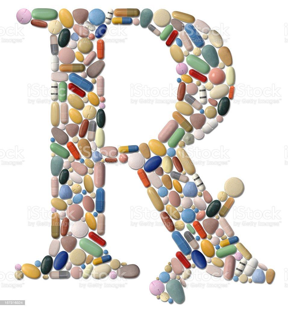 Rx Drugs stock photo