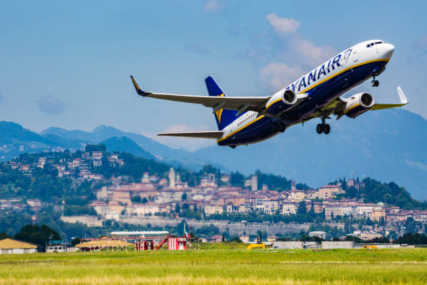 Avion de Ryanair - Photo