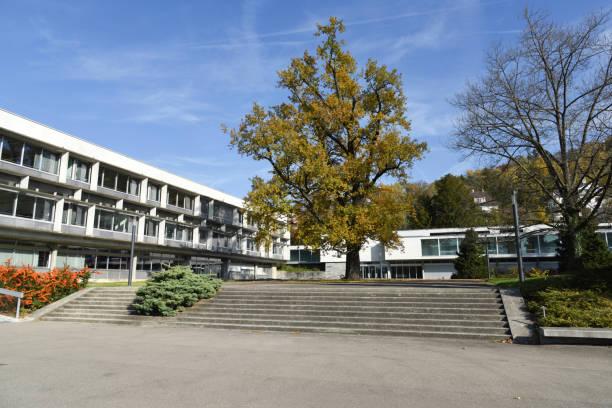 Rychenberg Cantonal School stock photo