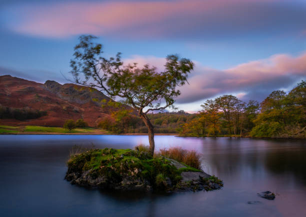 Rydal Water stock photo