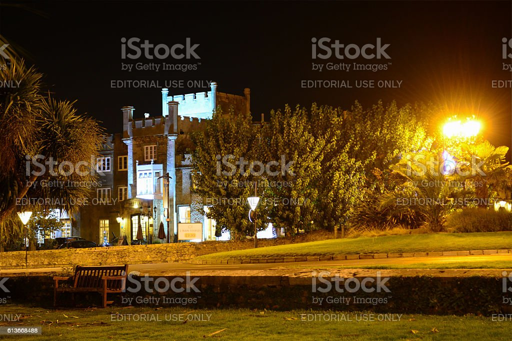 Ryde Castle Hotel and Restaurant stock photo