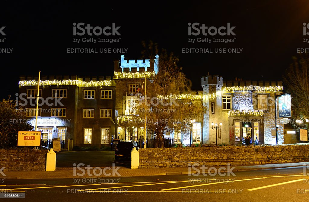 Ryde Castle - Isle of Wight stock photo
