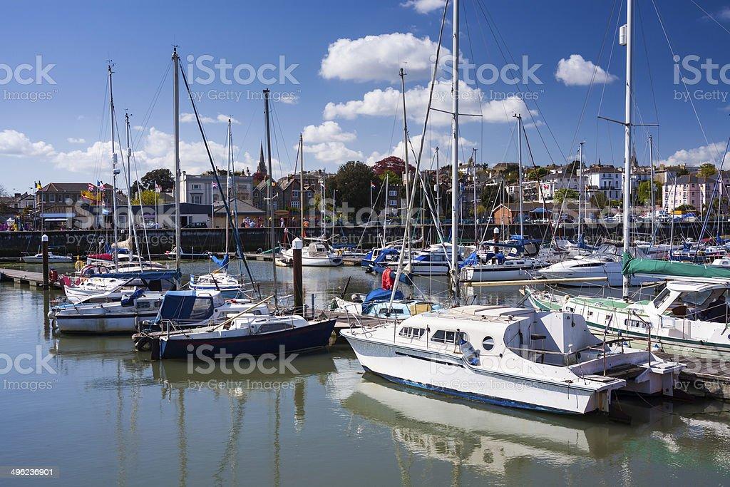 Ryde Isle Of Wight England stock photo