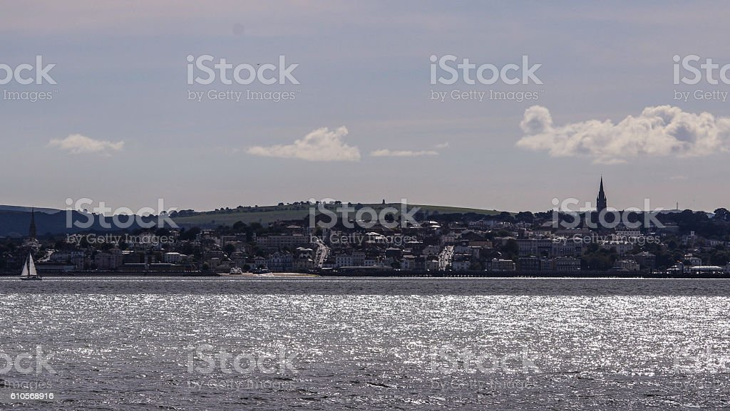 Ryde Isle of Wight stock photo