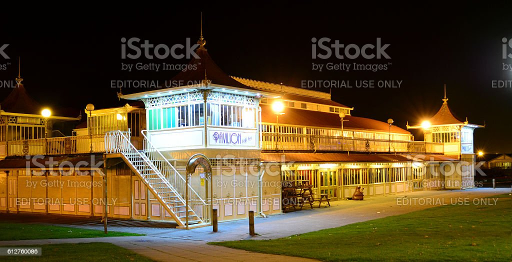 Ryde Pavilion - Isle of Wight stock photo