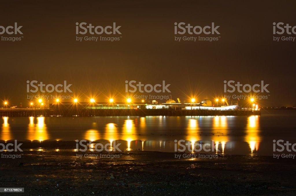 Ryde Pier Head - Isle of Wight stock photo