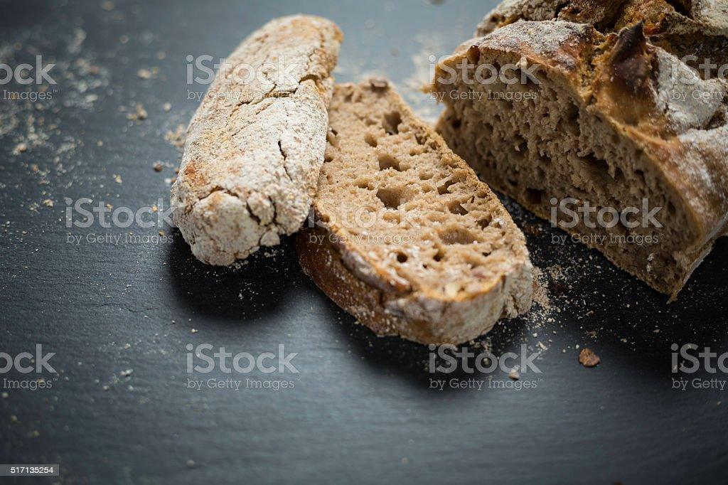 rye bread foto