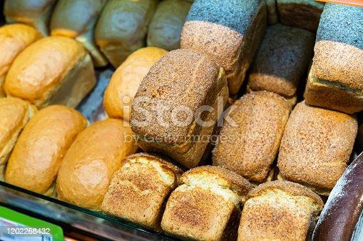 istock Rye brown bread 1202268432