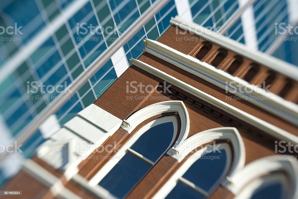 Ryman Auditorium detail, Nashville stock photo