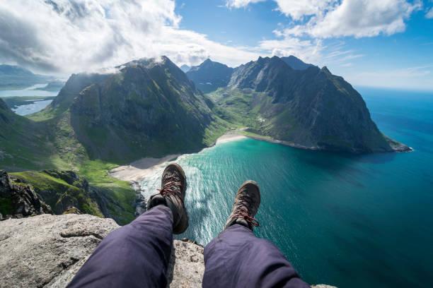 Ryten Lofoten Islands - Norway lofoten stock pictures, royalty-free photos & images