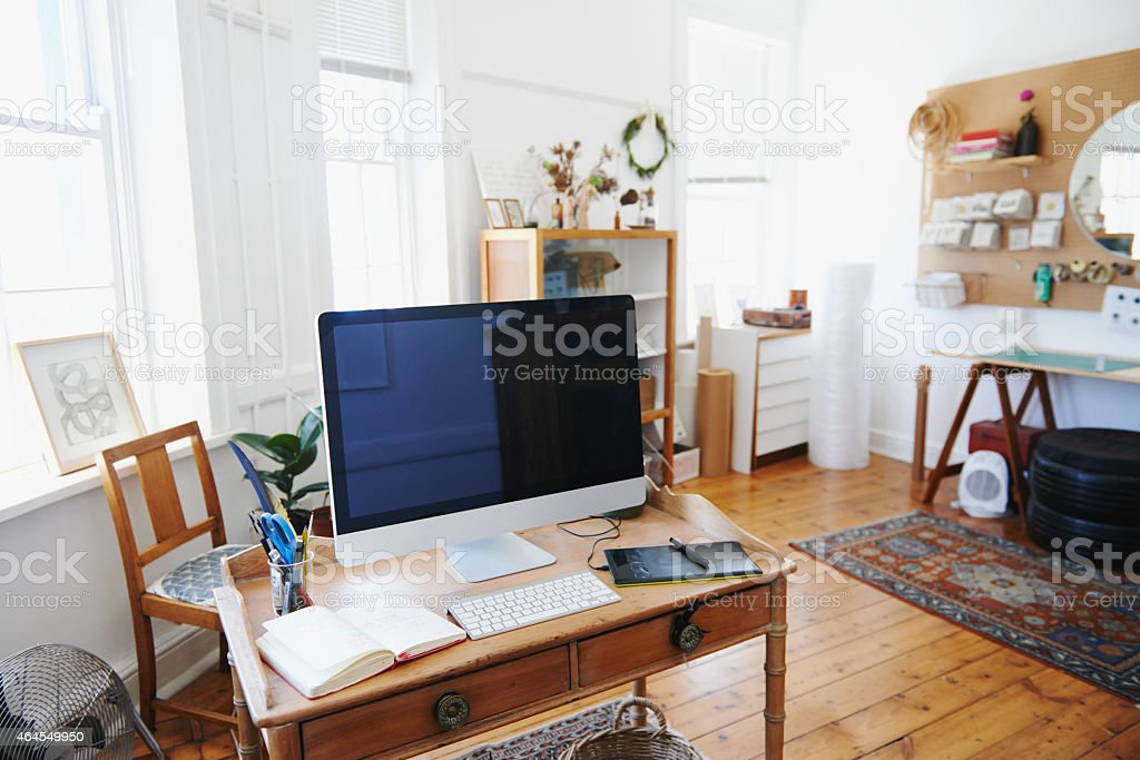 IT's a creative space stock photo