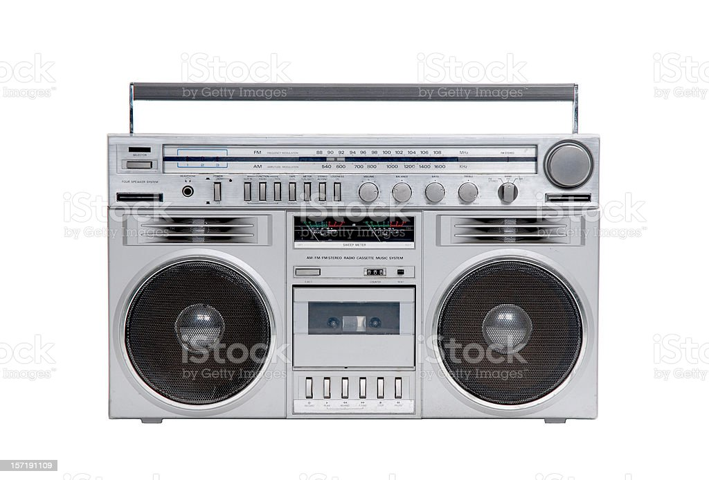 Reserved for OldSchoolSteff Vintage 80's Panasonic Boombox  |80s Boombox