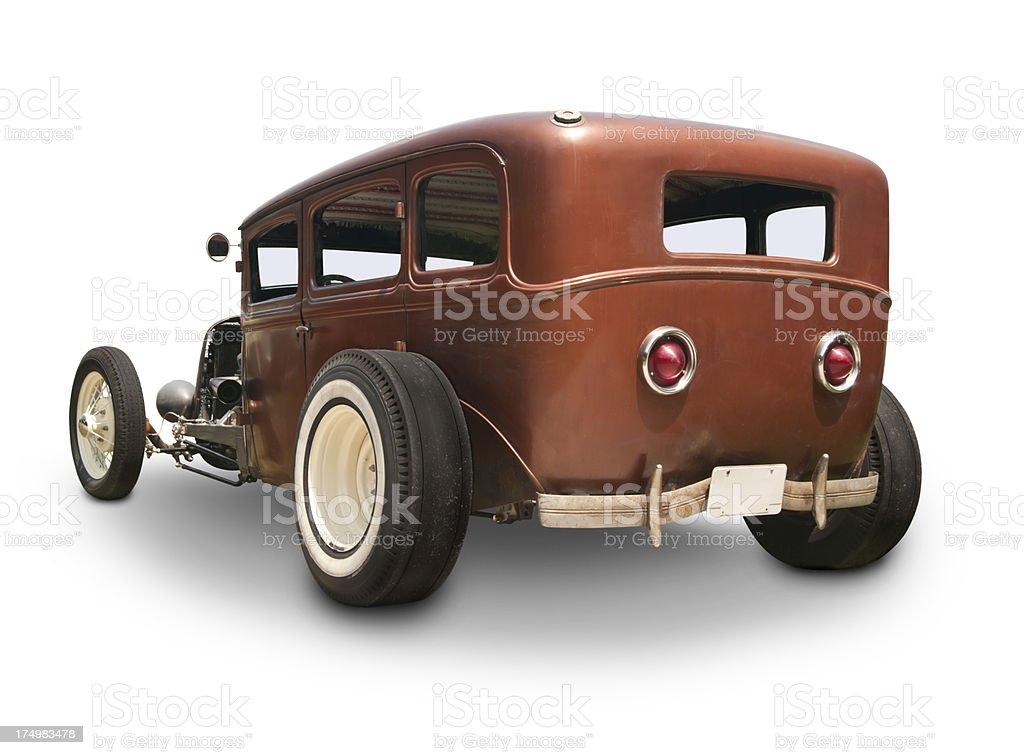 1930's Car - Rat Rod royalty-free stock photo