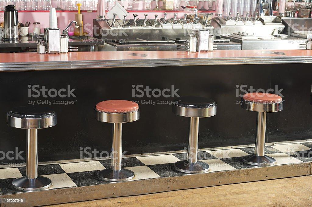 50's Diner stock photo
