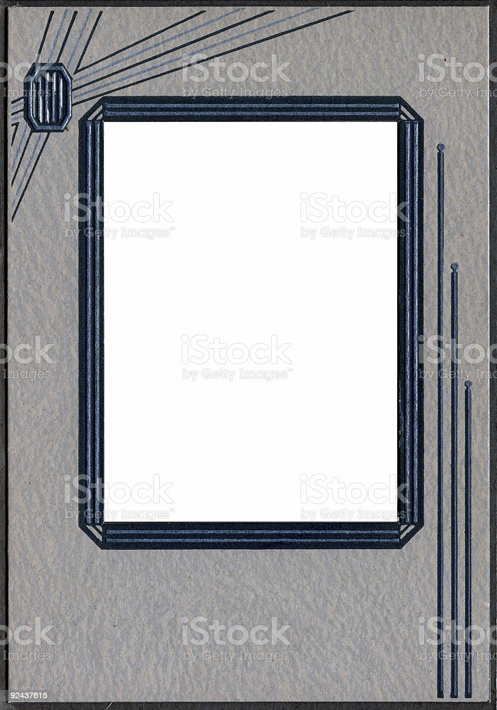 1940's Frame royalty-free stock photo