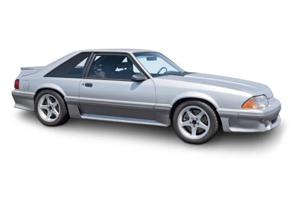 1980er jahren fließheck-sportwagen - alten muscle cars stock-fotos und bilder