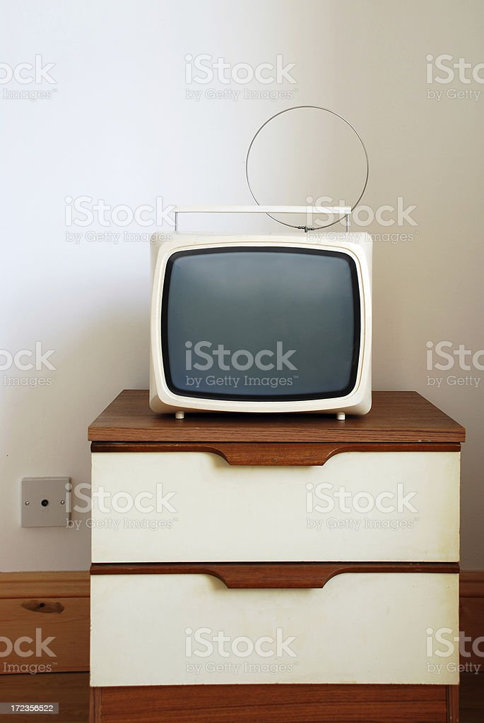TV's last stand royalty-free stock photo