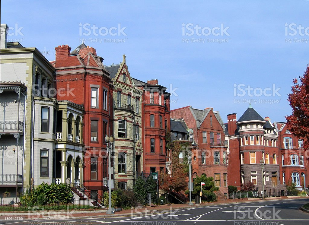DC's Logan Circle stock photo