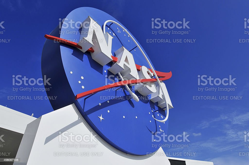 NASA's Logo royalty-free stock photo