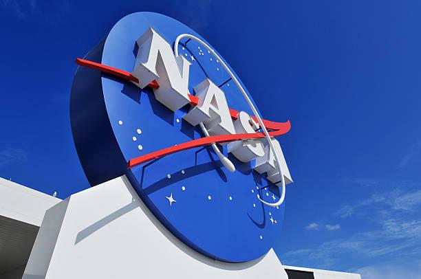 nasa-logo - kennedy space center stock-fotos und bilder