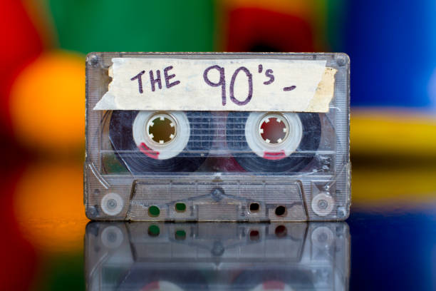 90's Mixed Tape stock photo